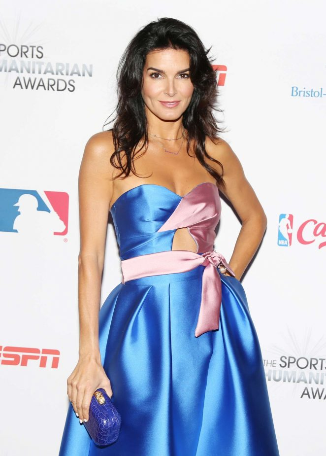Angie Harmon – 3rd Annual Sports Humanitarian Of The Year Awards in LA