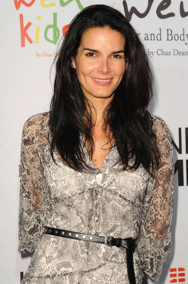 Angie Harmon - Chaz Dean's Summer Party Benefiting Love Is Louder in LA