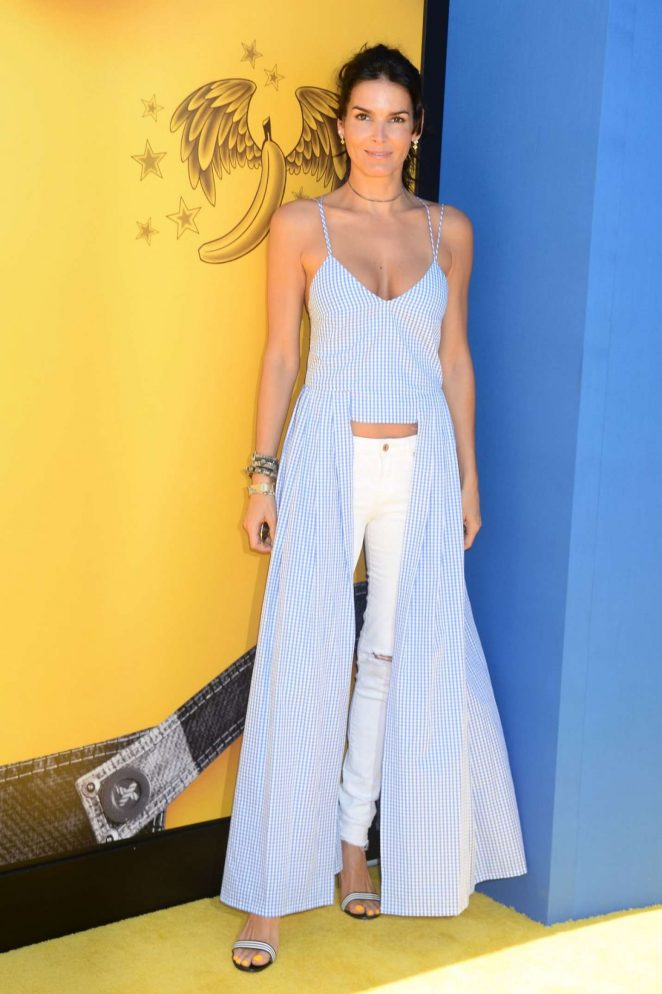 Angie Harmon – 'Despicable Me 3' Premiere in Los Angeles