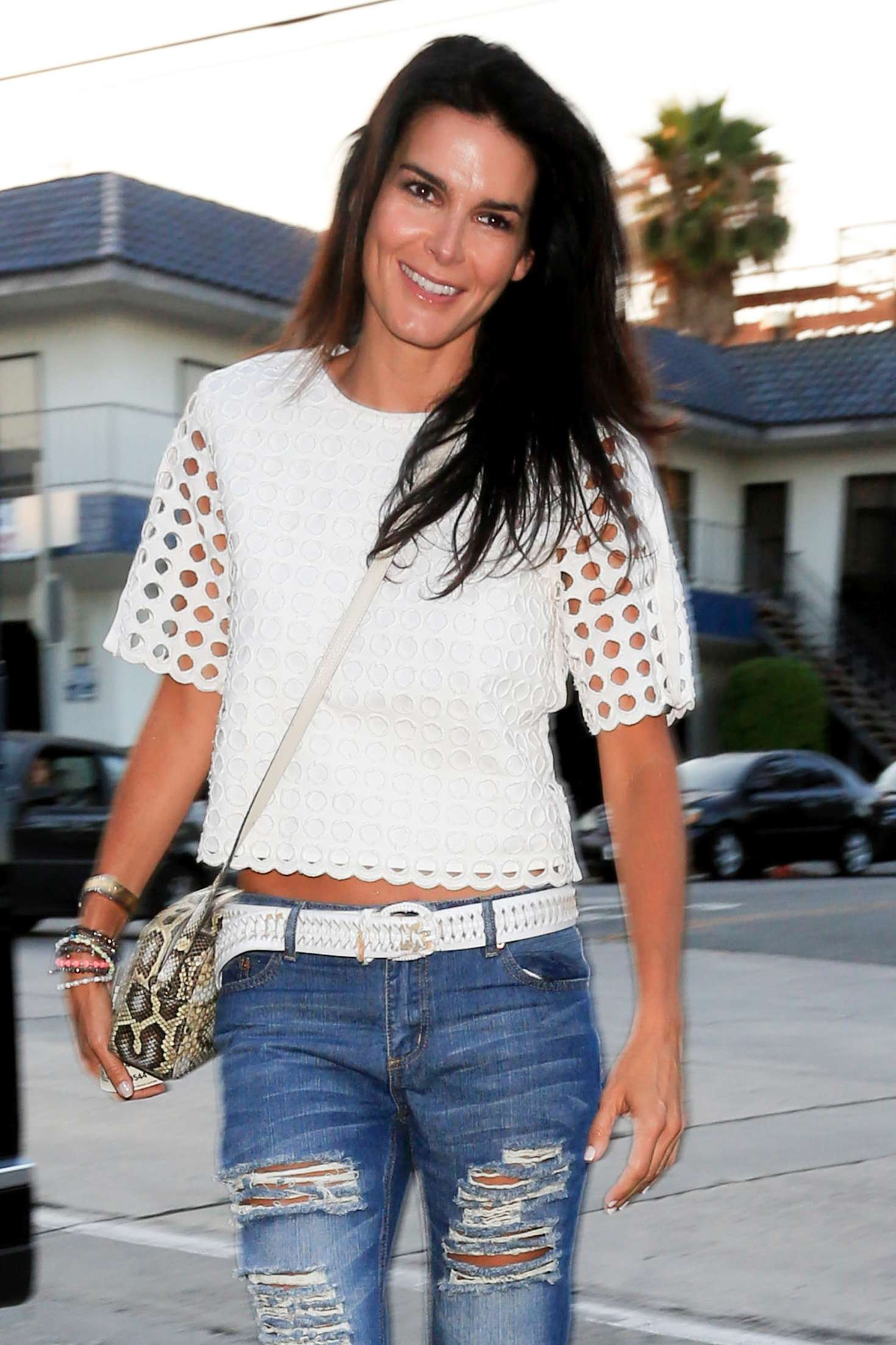 Angie Harmon in Ripped Jeans -20   GotCeleb