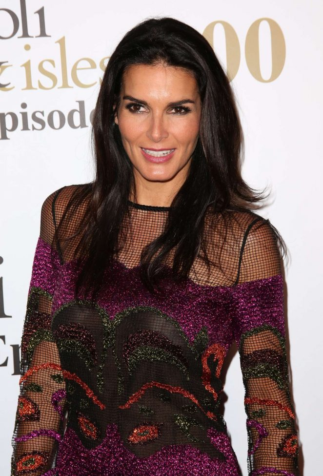 Angie Harmon - Rizzoli and Isles 100th Episode Celebration in Los Angeles