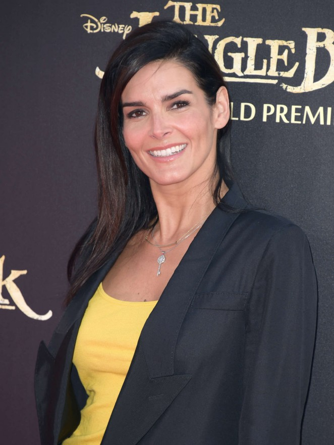 Angie Harmon - 'The Jungle Book' Premiere in Hollywood