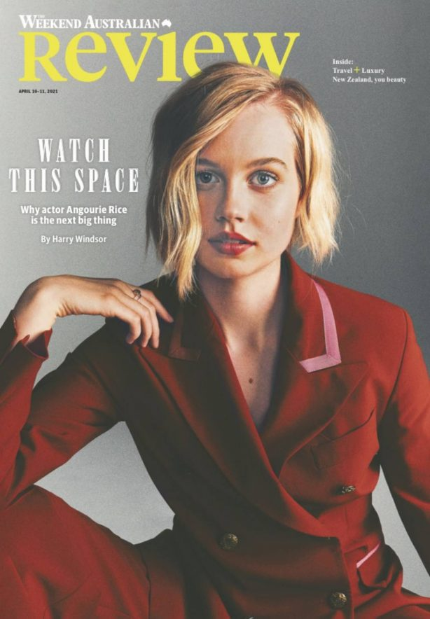 Angourie Rice - The Weekend Australian Review (April 2021)