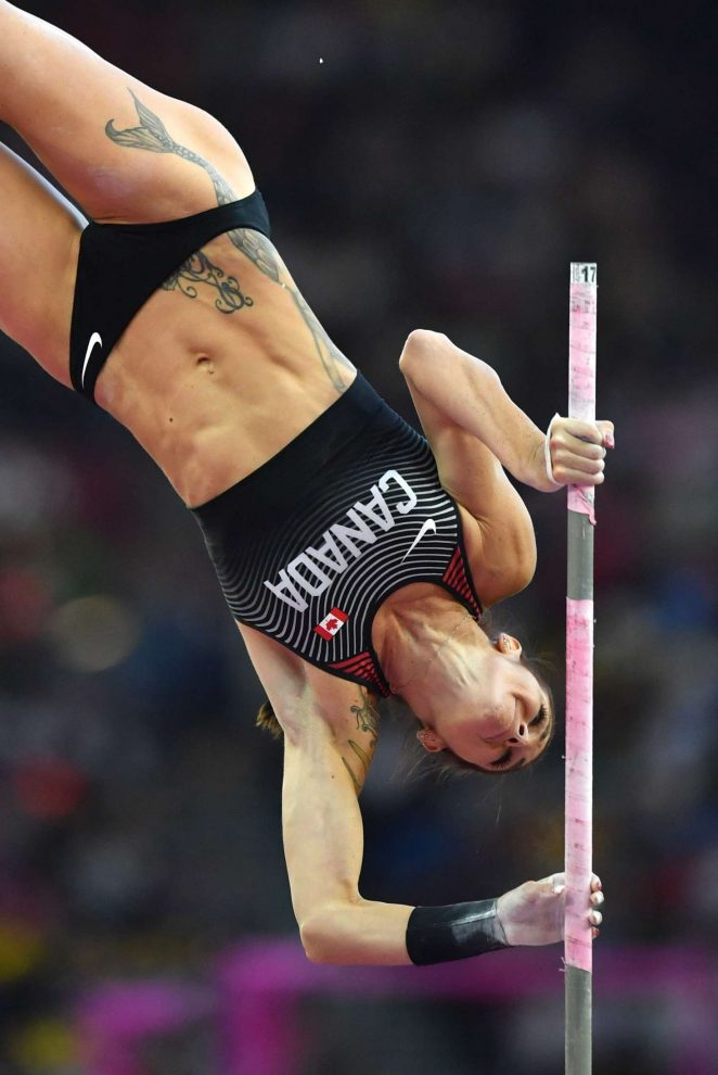 Anicka Newell - Women's Pole Vault Final at 2017 IAAF World Championships in London