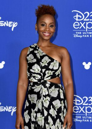 Anika Noni Rose - D23 Expo 2017 in Anaheim
