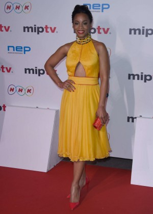 Anika Noni Rose - MIPTV Gala 2016 in Cannes