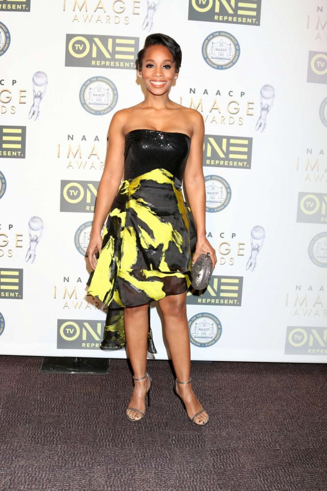 Anika Noni Rose - Non-Televised 48th NAACP Image Awards in Pasadena