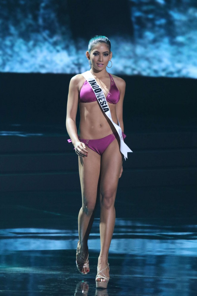 Anindya Putri - Miss Universe 2015 Preliminary Round in Las Vegas
