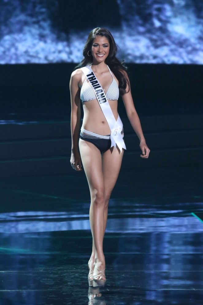Aniporn Chalermburanawong - Miss Universe 2015 Preliminary Round in Las Vegas