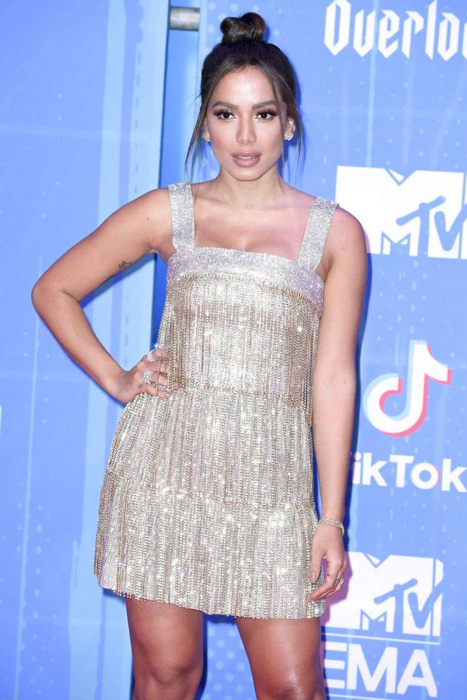 Anitta - 2018 MTV Europe Music Awards in Bilbao