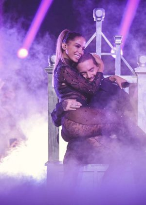 Anitta and J Balvin - Univision's 30th Edition Of 'Premio Lo Nuestro A La Musica Latina' in Miami