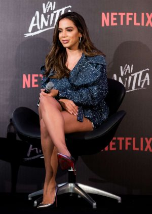 Anitta - Netflix Vai, Anitta! Press Conference in Sao Paulo