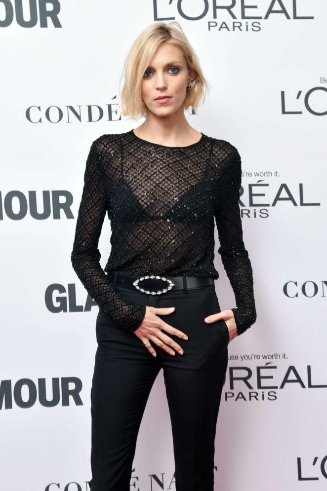 Anja Rubik – 2017 Glamour Women of The Year Awards in NY