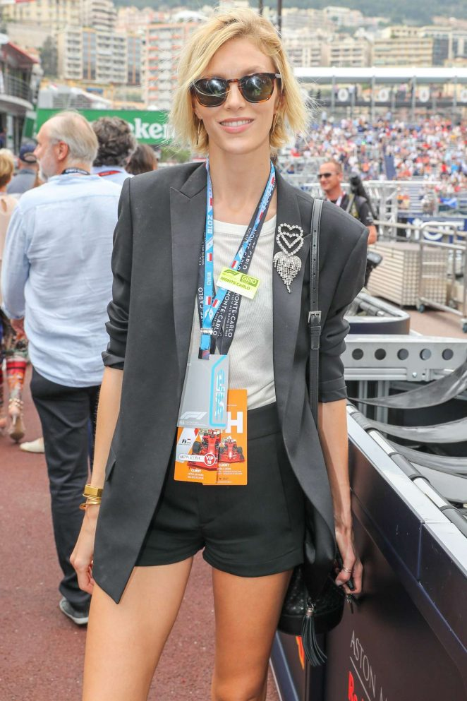 Anja Rubik - 76th Monaco Formula One Grand Prix in Monte Carlo