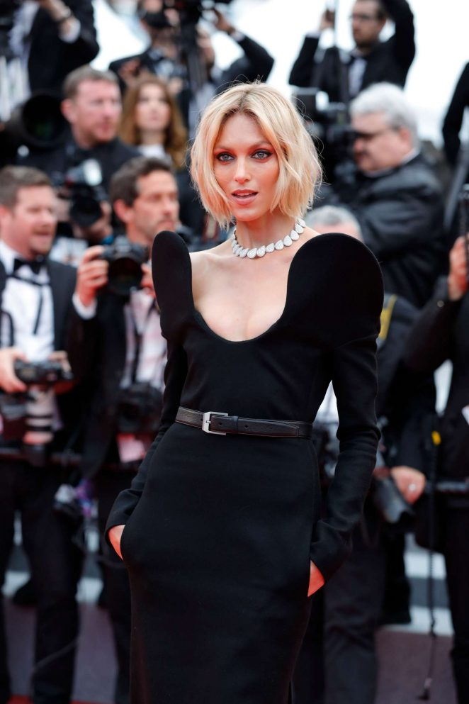 Anja Rubik - 'BlacKkKlansman' Premiere at 2018 Cannes Film Festival