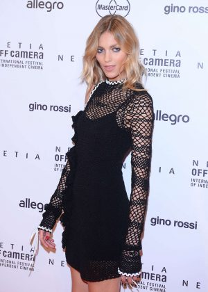 Anja Rubik - Closing Ceremony Netia Off Camera in Krakow