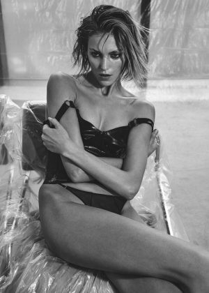 Anja Rubik - Vogue Ukraine Magazine (February 2017)