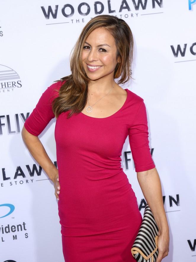 Anjelah Johnson-Reyes - 'Woodlawn' Premiere in Westwood