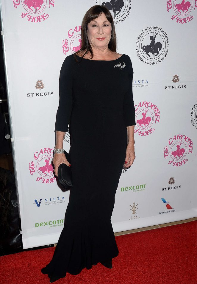 Anjelica Huston - Carousel of Hope Ball 2016 in Beverly Hills