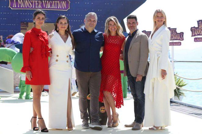 Anke Engelke 2018 : Anke Engelke: Hotel Transylvania 3 A Monster Vacation Photocall at 2018 Cannes -02