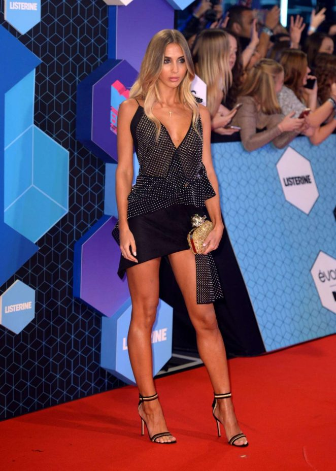 Ann Kathrin Brommel - 2016 MTV Europe Music Awards in Rotterdam