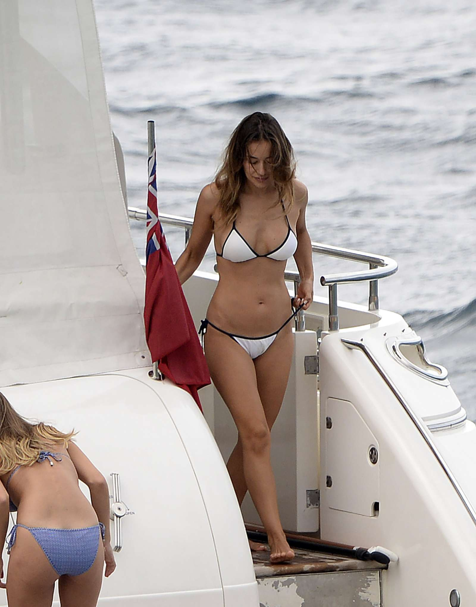 Ann-Kathrin Brommel 2018 : Ann-Kathrin Brommel and Anna Sharypova in Bikini 2018 -43