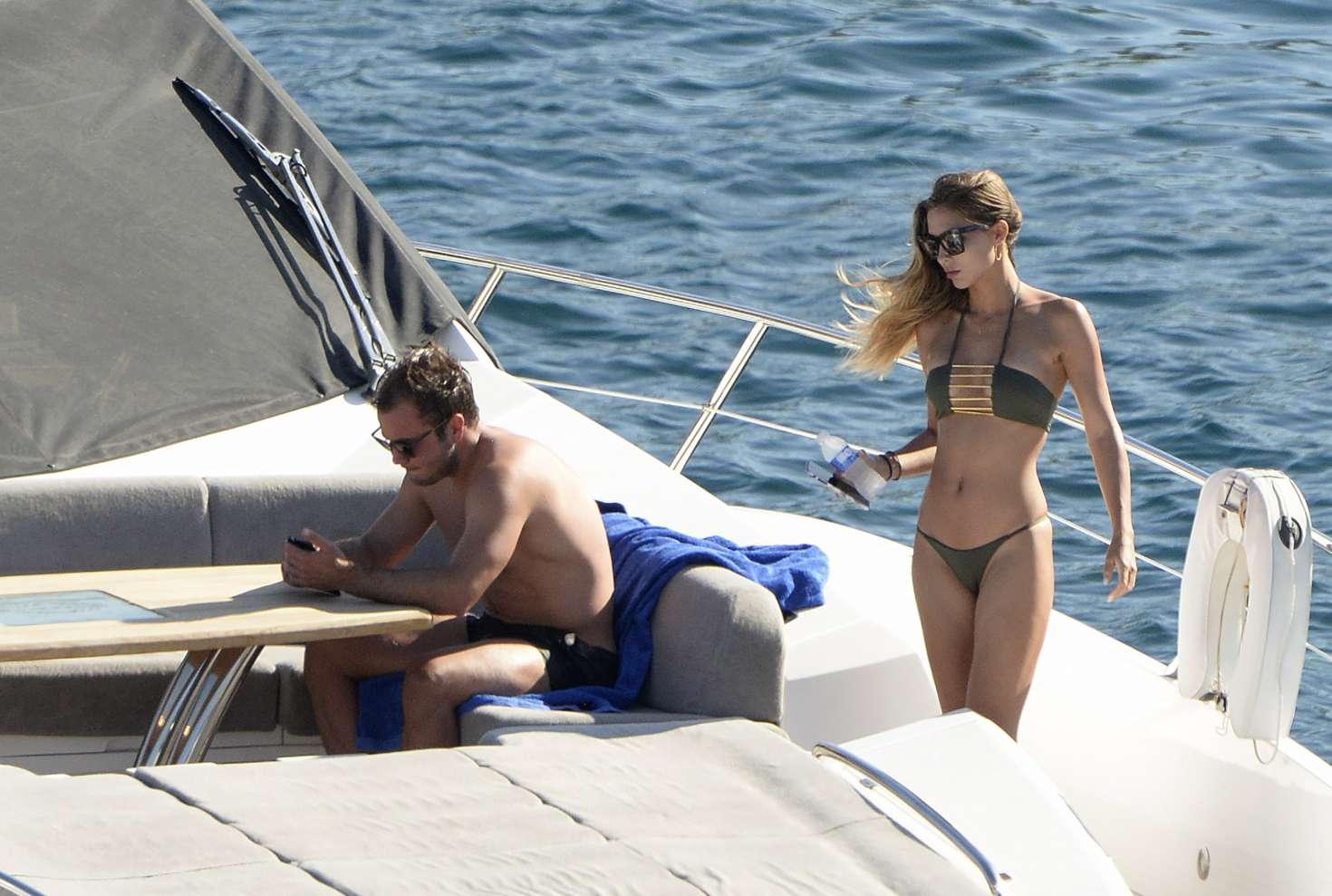 Ann-Kathrin Brommel 2017 : Ann-Kathrin Brommel: Hot in a bikini while on a yacht in Mallorca-23