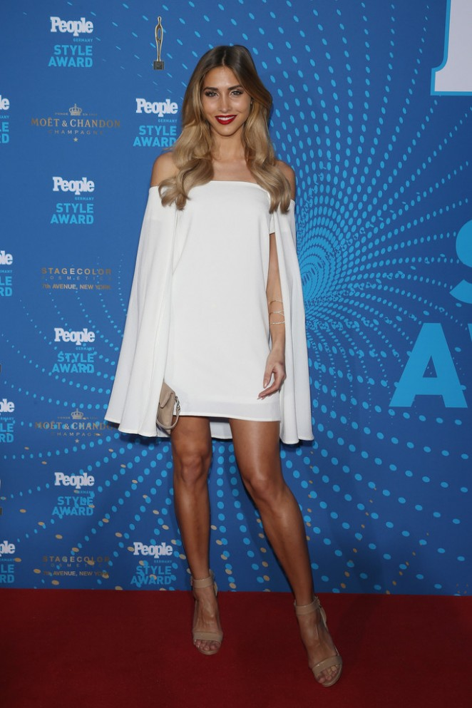 Ann-Kathrin Brommel – PEOPLE Style Awards 2016 in Munich