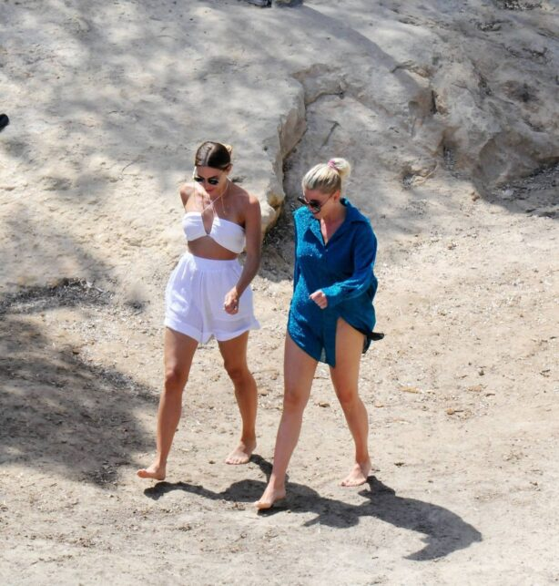 Ann Kathrin Götze - Seen at a beach in Mallorca 14.06.2021