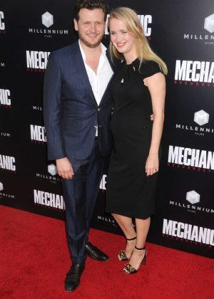 Ann-Kristin Reese - 'Mechanic: Resurrection' Premiere in Los Angeles
