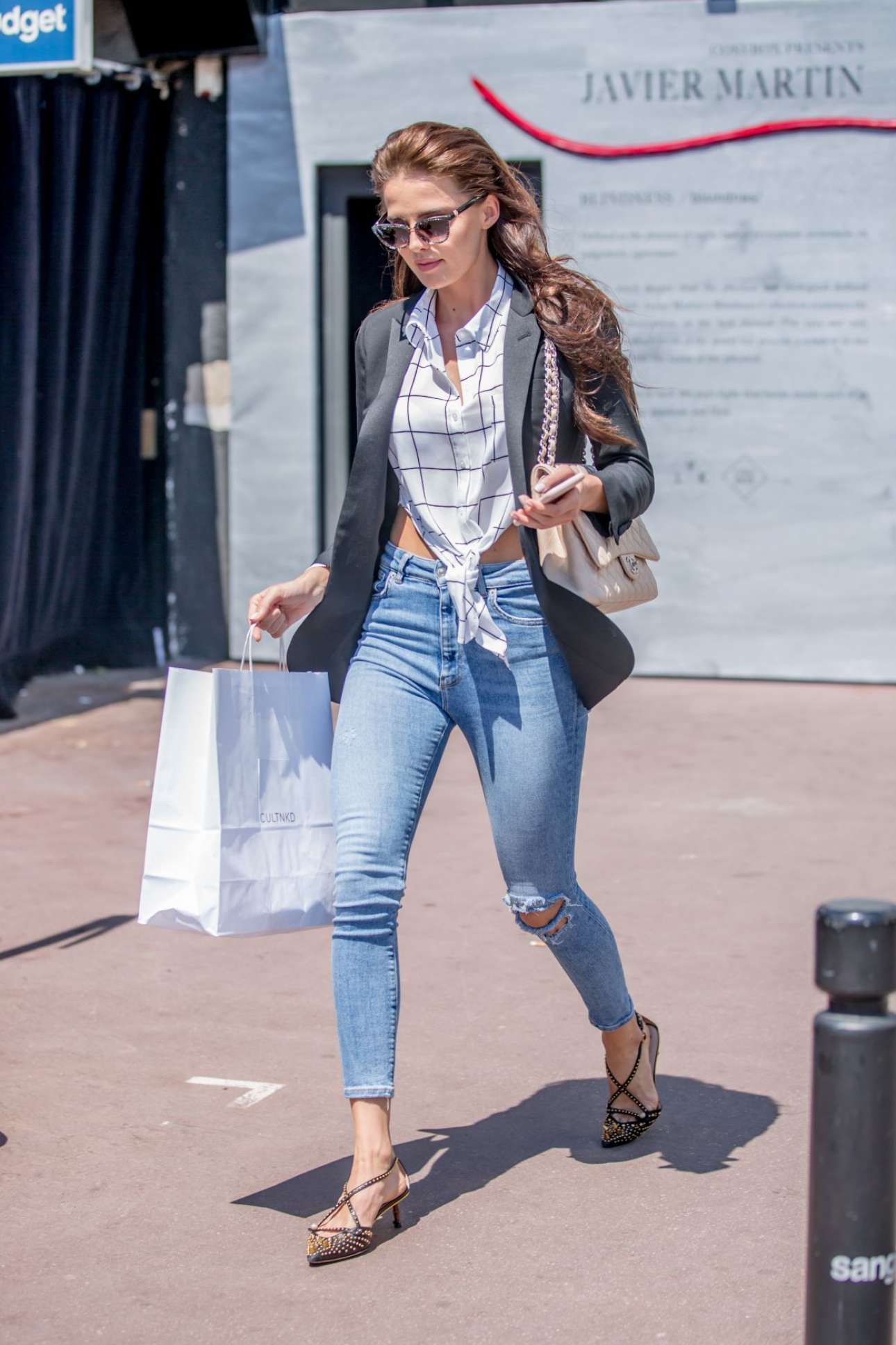 Anna Andres 2018 : Anna Andres: Leaves Hotel Martinez In Cannes-05
