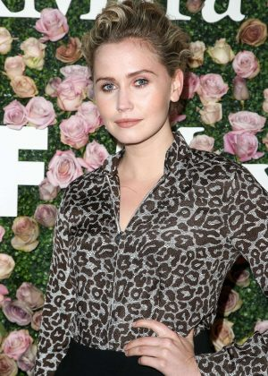 Anna Bamford - 2017 Women In Film Max Mara Face of the Future Awards in LA