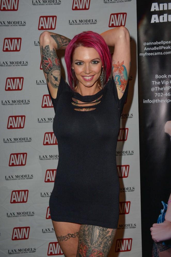 Anna Bell Peaks - AVN Adult Entertainment Expo in Las Vegas