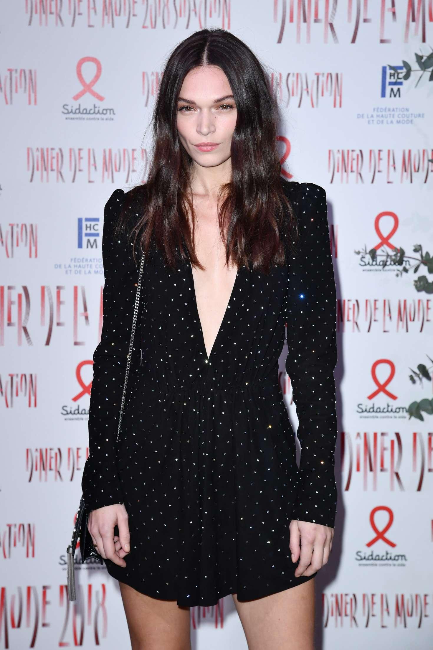 Anna Brewster - 2018 Sidaction Gala in Paris