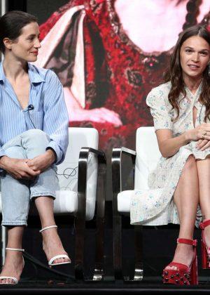 Anna Brewster and Elisa Lasowski - 'Versailles' TV Show Panel at 2017 TCA Summer Press Tour in LA
