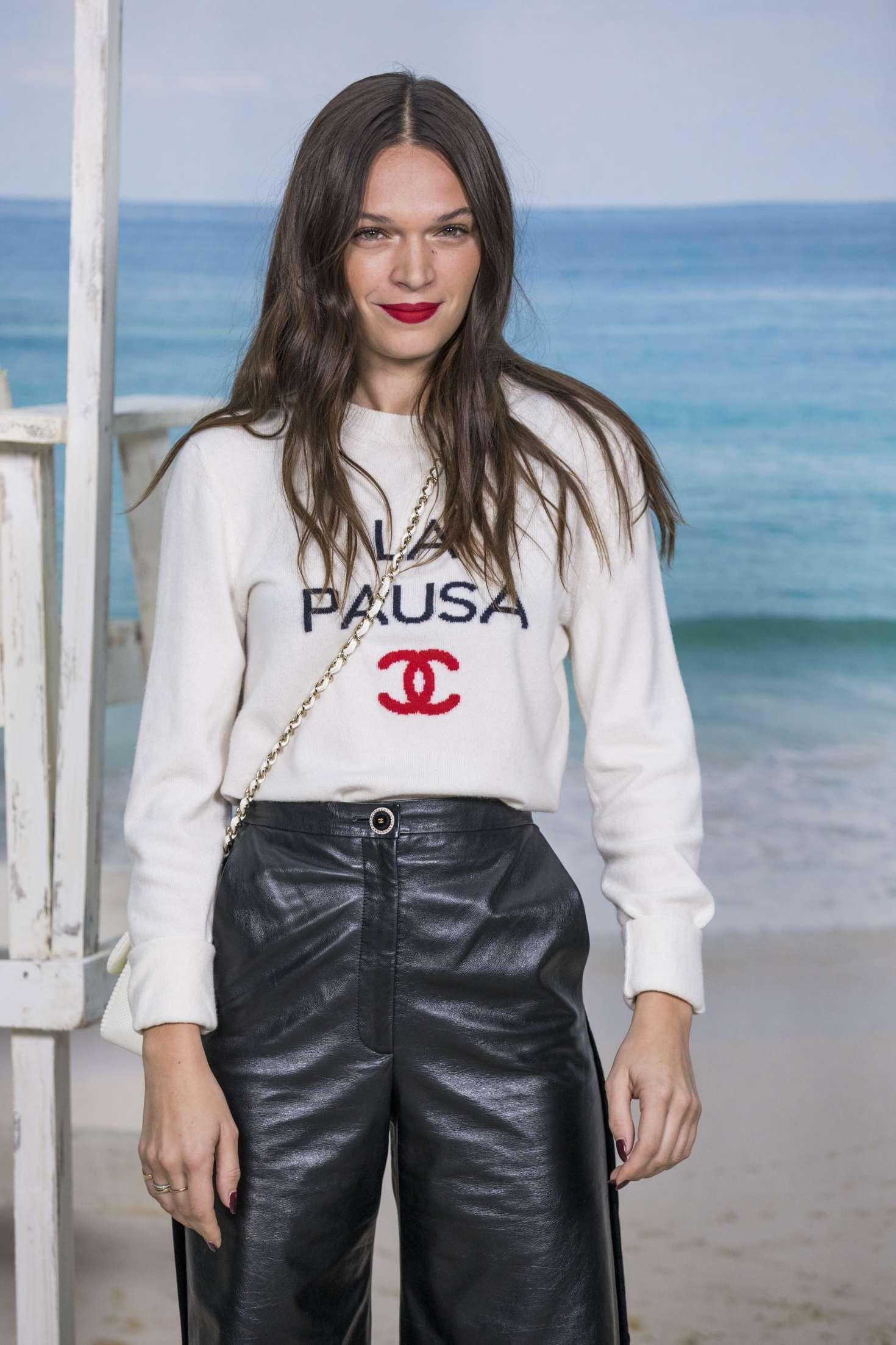 Anna Brewster - Chanel Fashion Show in Paris