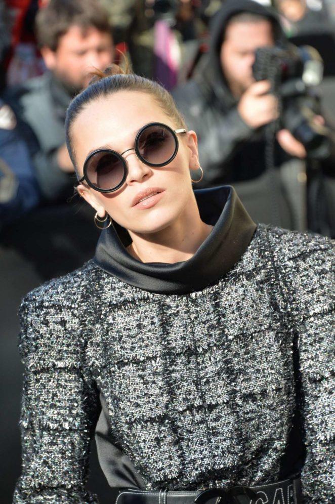 Anna Brewster – Chanel Fashion Show, Paris Fashion Week in Paris