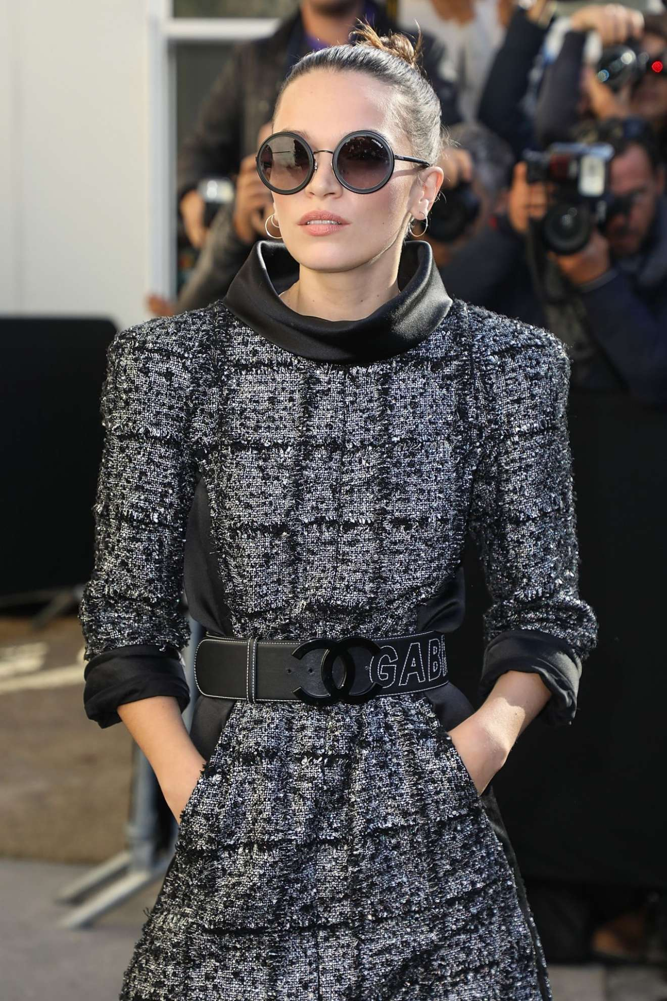 Anna Brewster 2017 : Anna Brewster – Chanel Fashion Show, Paris Fashion Week in Paris-05