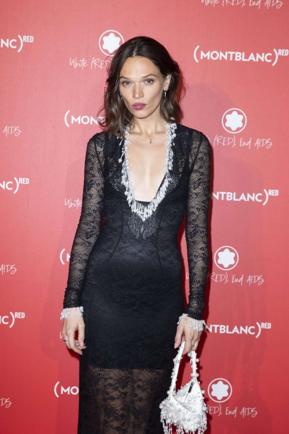 Anna Brewster - Montblanc Launch Collection To Benefit RED in Paris