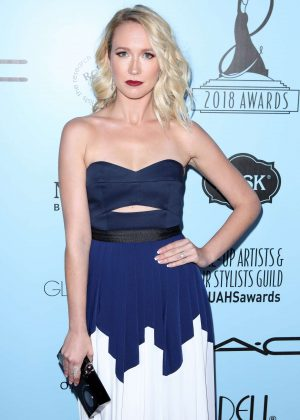 Anna Camp - 2018 Make-Up Artists and Hair Stylists Guild Awards in LA