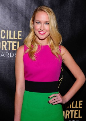 Anna Camp - 2015 Lucille Lortel Awards in NYC