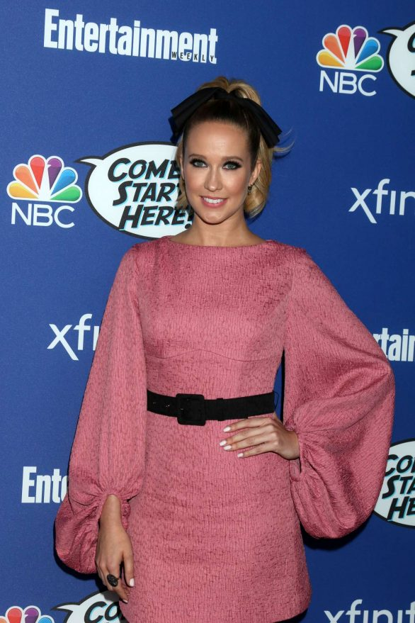 Anna Camp - NBC Comedy Starts Here Event at the NeueHouse in Los Angeles