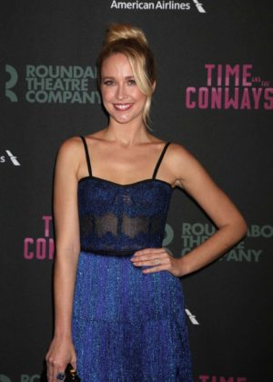 Anna Camp - Time And The Conways Opening Night in New York