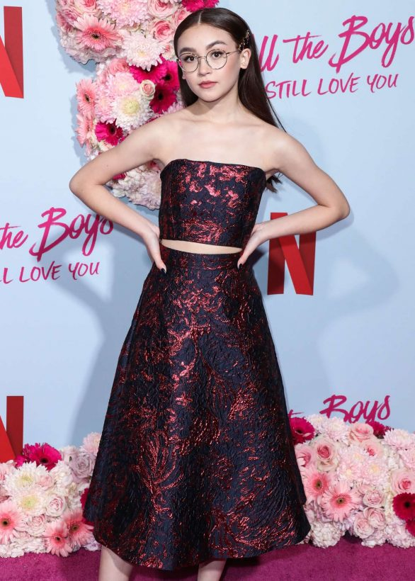 Anna Cathcart - Netflix 'To All the Boys: P.S. I Still Love' premiere in Hollywood