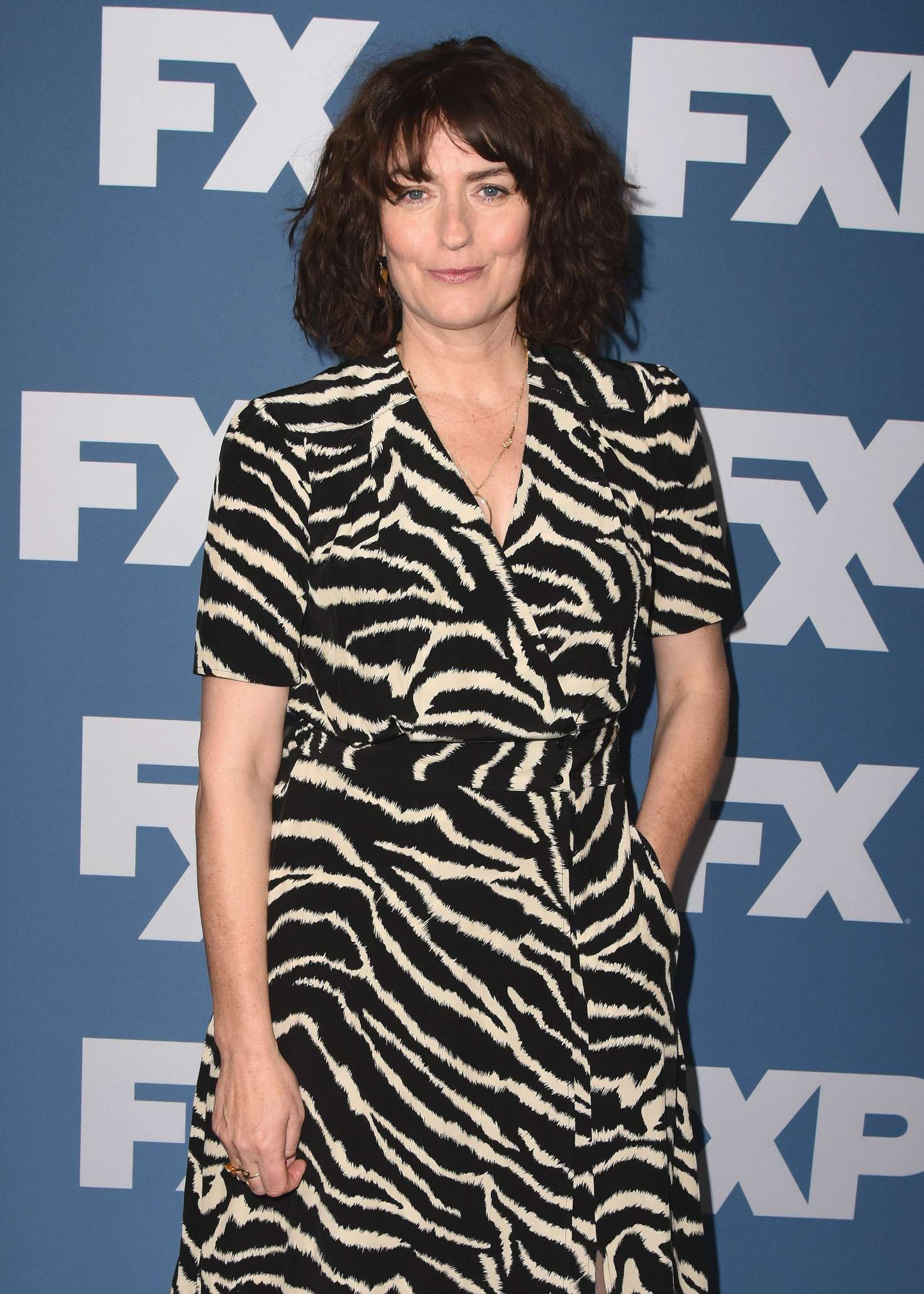 Anna Chancellor Fx Starwalk At 2018 Winter Tca Tour In