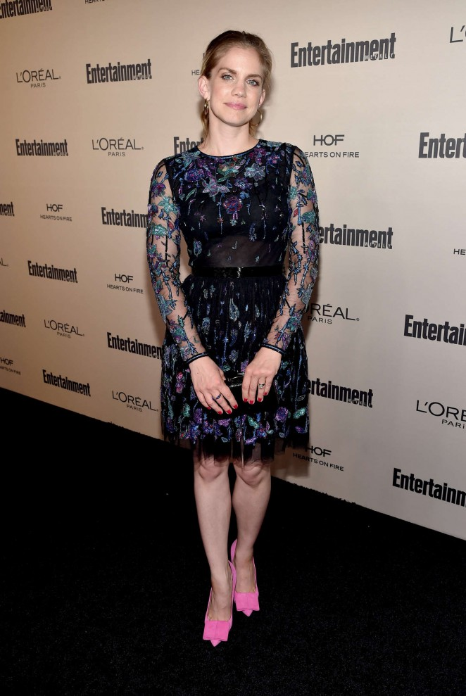 Anna Chlumsky - 2015 Entertainment Weekly Pre-Emmy Party in West Hollywood