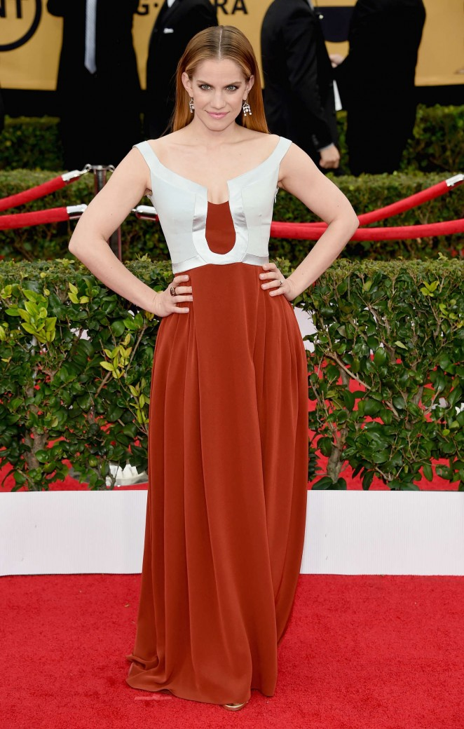 Anna Chlumsky - 2015 Screen Actors Guild Awards in LA