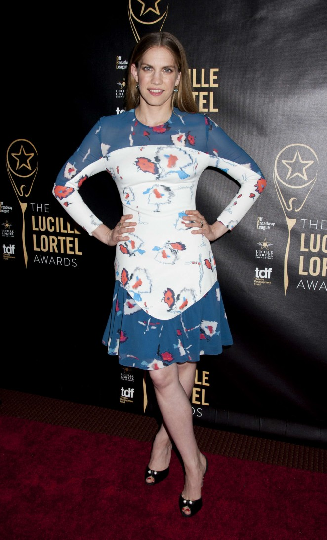 Anna Chlumsky - 2015 Lucille Lortel Awards in NYC