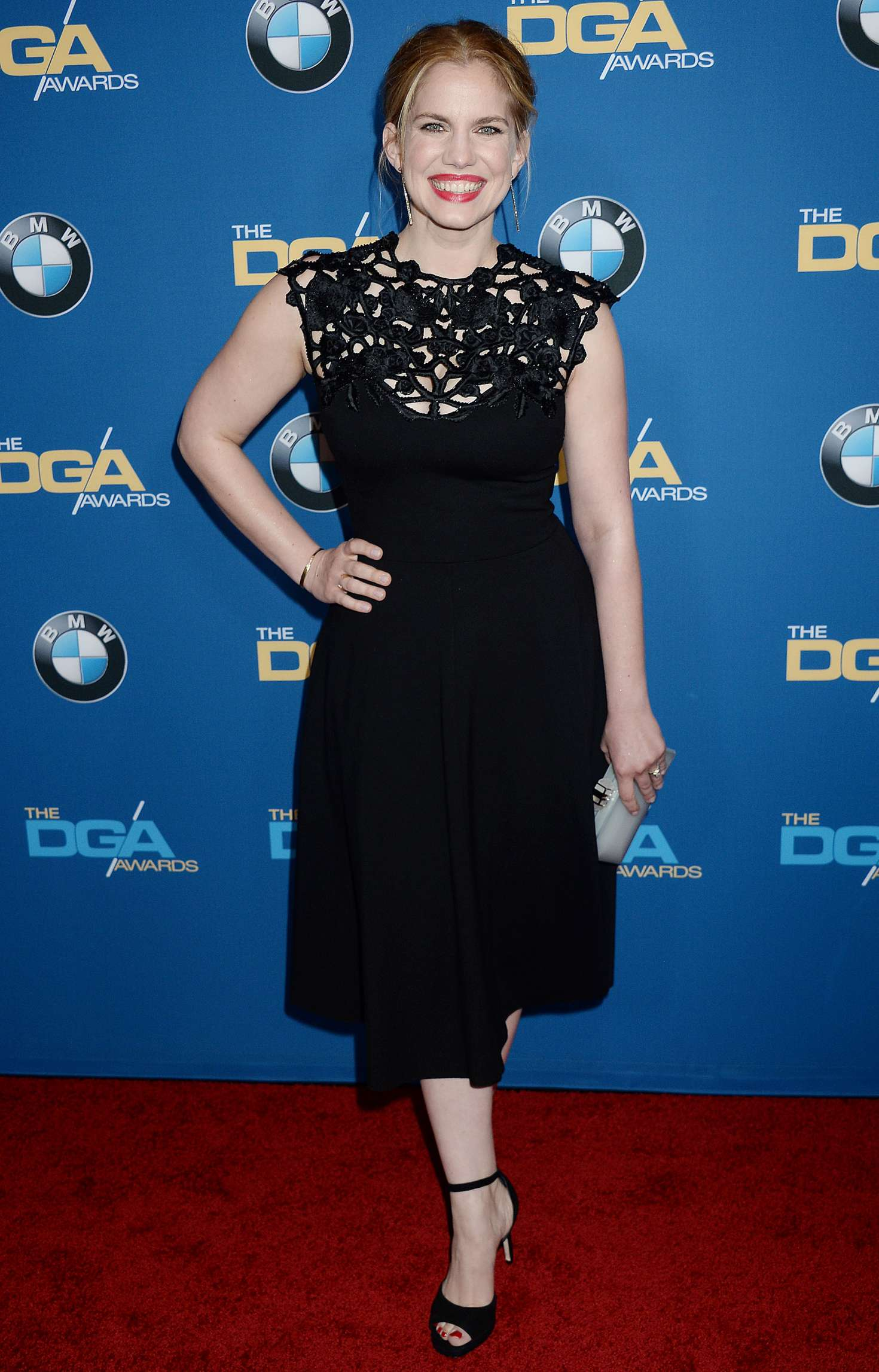 Anna Chlumsky 2017 : Anna Chlumsky: 69th DGA Awards -05
