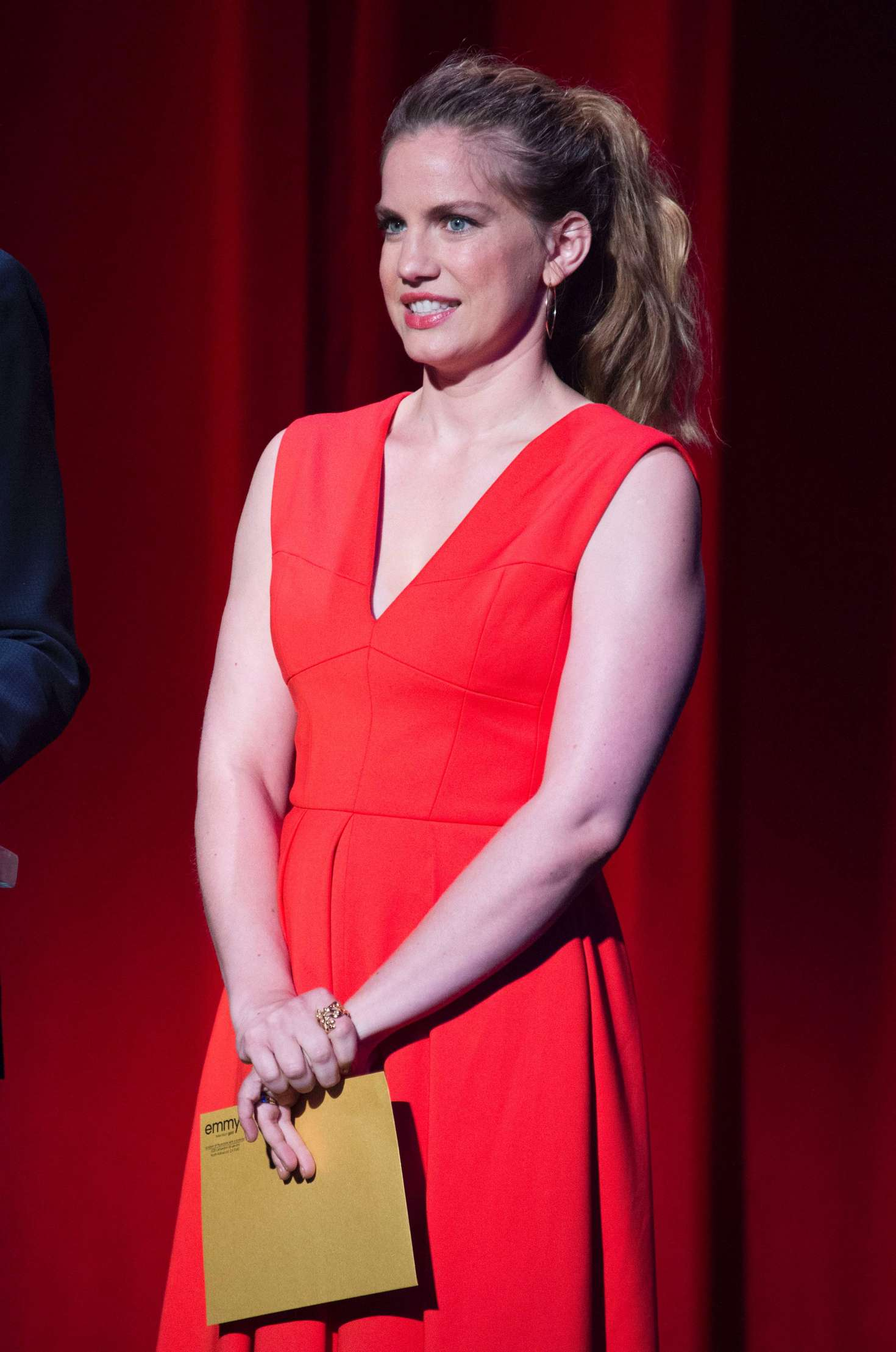 Anna Chlumsky 69th Emmy Awards Nominations Announcement In North Hollywood